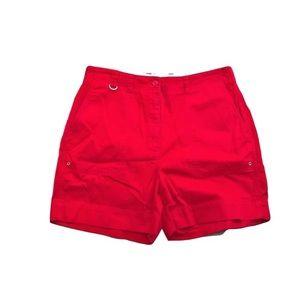 Lauren Ralph Lauren Red Women Shorts